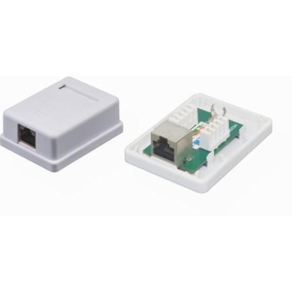 ქსელის აქსესუარი KD-WP6036A, Kingda, FTP CAT5e Surface Mount box,1port
