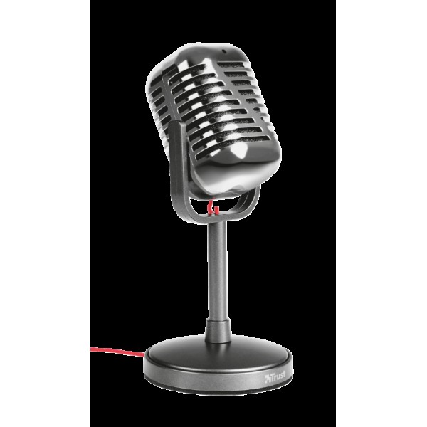 მიკროფონი / TRUST - ELVII VINTAGE MICROPHONE / 21670