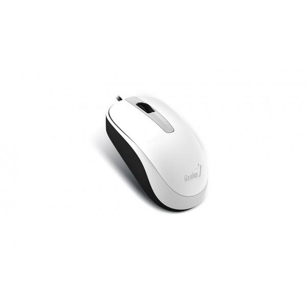 თაგვი DX-120 WHITE  Optical Mouse, USB