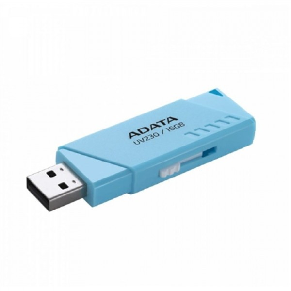 USB მეხსიერება AUV230-16G-RBK ,A-DATA UV230-16GB-RETAIL BLACK USB 2.0 Flash Drive