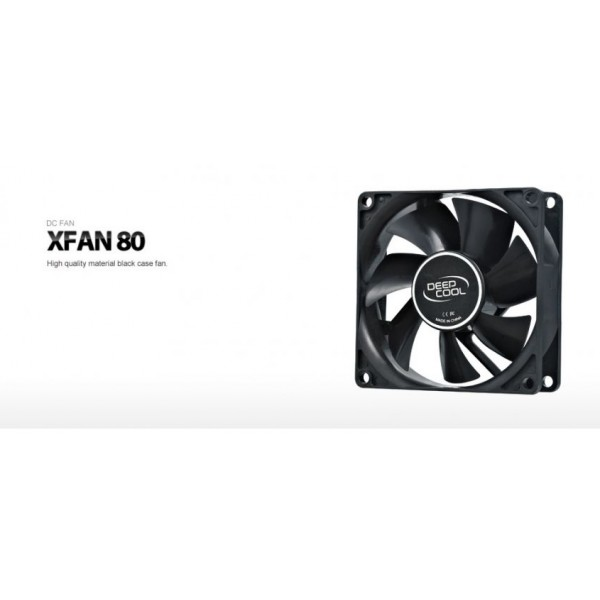 XFAN 80, Deepcool, Cooler For Computer Case ,80×80×25mm, 20dB(A)