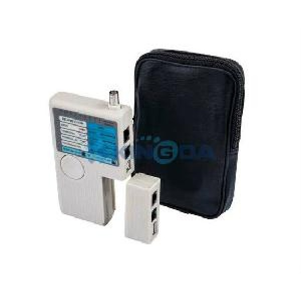 ხელსაწყო KD-CT009, KINGDA, 4 in 1 Cable Tester With RJ45/RJ12/RJ11/BNC/USB port