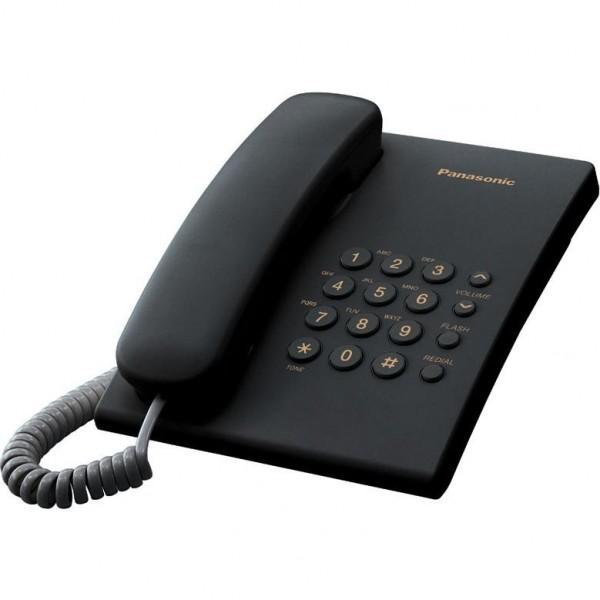 ტელეფონი  KX-TS2350UAB Panasonic Black