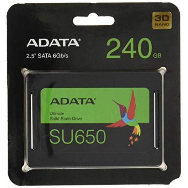 მყარი დისკი ASU650SS-240GT-R ADATA , Sata 3.0 240GB  SSD 6Gb/s,