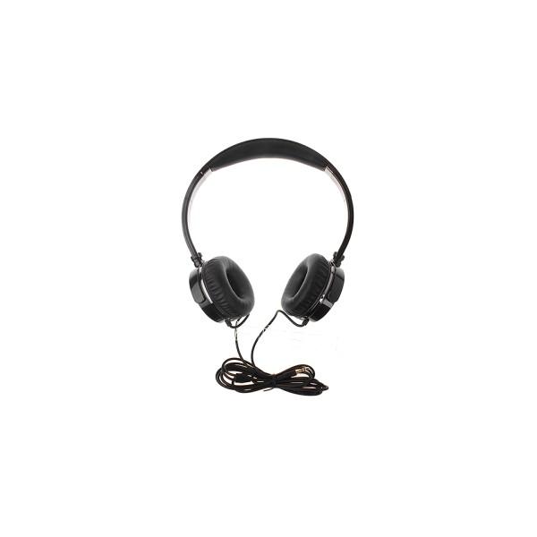 light weight Wired Headphones HD109 black