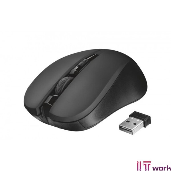 21869 TRUST MYDO SILENT WIRELESS MOUSE BLK
