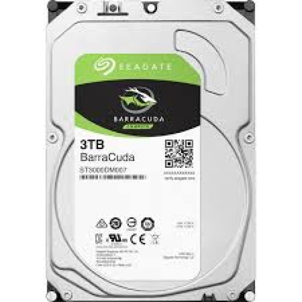 SEAGATE HDD3 3TB  Desktop Barracuda Guardian (3.5  /3TB/SATA/rmp 5400) ST3000DM007
