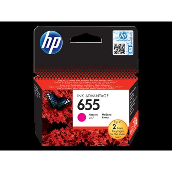 კარტრიჯი CZ111AE, HP 655 Magenta Ink Cartridge