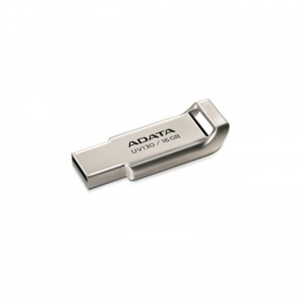USB ფლეშ მეხსიერება, AUV130-16G-RGD, A-DATA FlashDrive UV130 16GB Champagne Golden USB 2.0 Flash Drive, Retail
