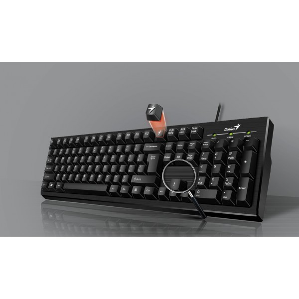 კლავიატურა KB-101,Genius Smart  Keyboard USB Black