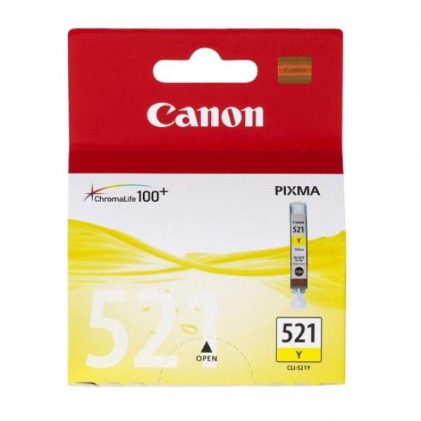 კარტრიჯი CLI-521Y,Canon Yellow