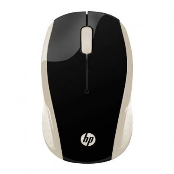 2HU83AA HP 200 Silk Gold Wireless Mouse