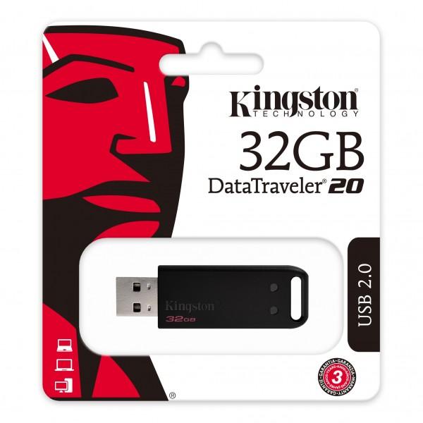 DT20/32GB, Kingston DataTraveler USB 2.0