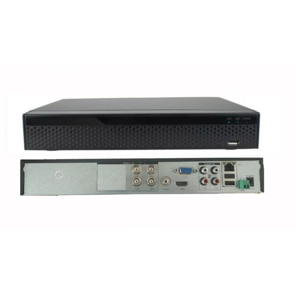 ჩამწერი მოწყობილობა XVR2104D/5M/4M/3m/ DIY Video Input: Max 4CH@30fps / IPC: Max 16CH@30fps / Analog: Max 4CH@30fps
