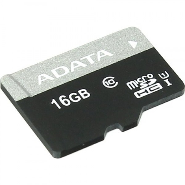 AUSDH16GUICL10-R, A-DATA 16GB Premier microSDHC UHS-I U1 Card (Class 10) with 1 Adapter, retail