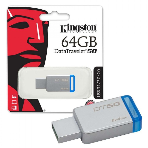 USB Flash Drive/ 64GB/ Kingston/ DT50/64GB / USB 3.0