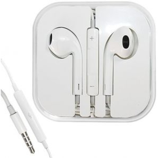 Handsfree iph-6, Apple Handsfree Earphones with Remote and Mic for Apple iPhone 6/6 Plus/5/5s(White)