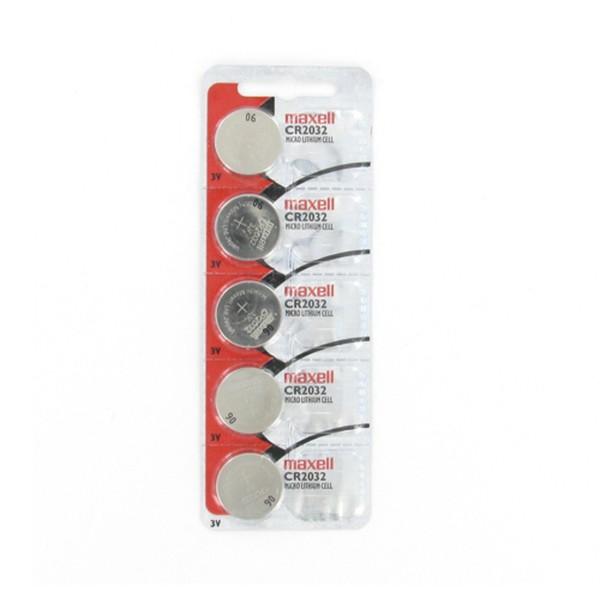 შეკვრა ელემენტების 5-ცალიანი CR2032 5PK Maxell 4902580131258