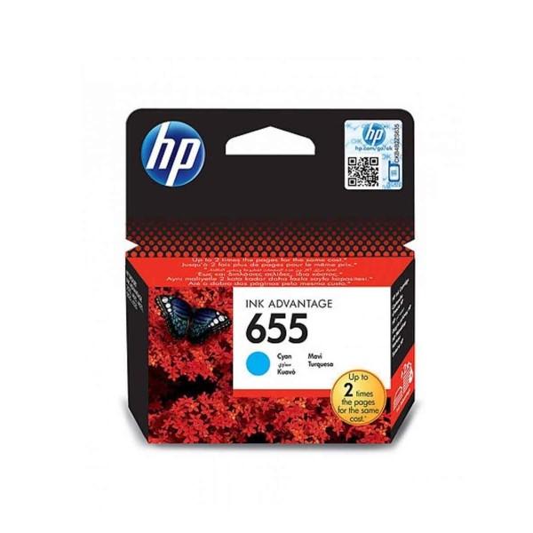კარტრიჯი CZ110AE, HP 655 Cyan Ink Cartridge