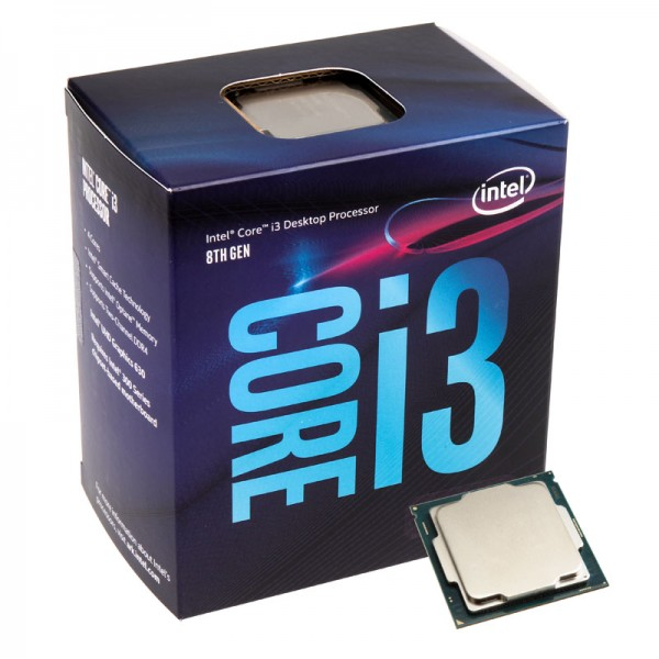 PC Components/ CPU/ Intel/ Intel/ Core i3-8100, S1151, 6M 3.6G, TRAY