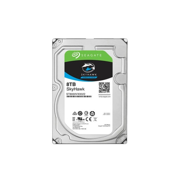 ST8000VX0022, Seagate SkyHawk 8TB 7200rmp 6Gb/s SATA 3.5