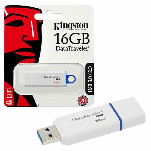 USB Flash Drive/ 16GB/ Kingston/ DTIG4/ 16GB DataTraveler USB 3.0