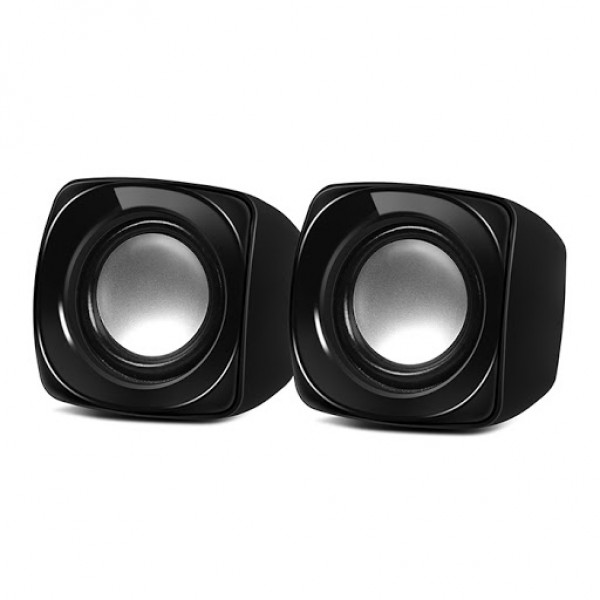 SPEAKER - SVEN 120, black (USB)