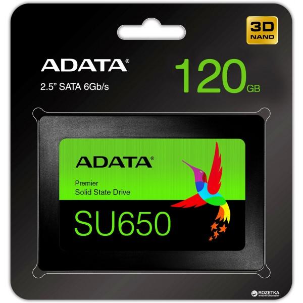 მყარი დისკი ASU650SS-120GT-R ADATA , Sata 3.0 120GB SSD  6Gb/s,