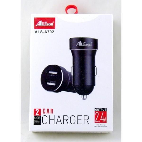 მანქანის დამტენი Car Charger  ALS-A702