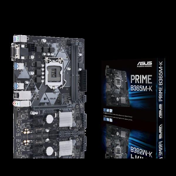 PRIME B365M-K, ASUS, Micro ATX family, L...
