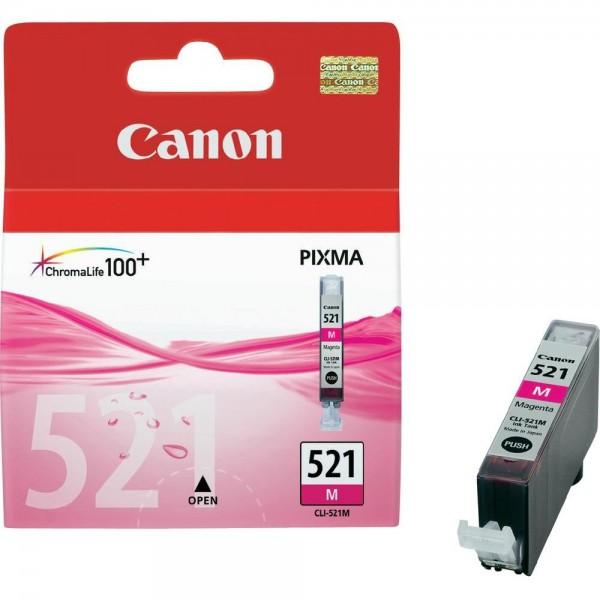კარტრიჯი CLI-521M,Canon Magenta
