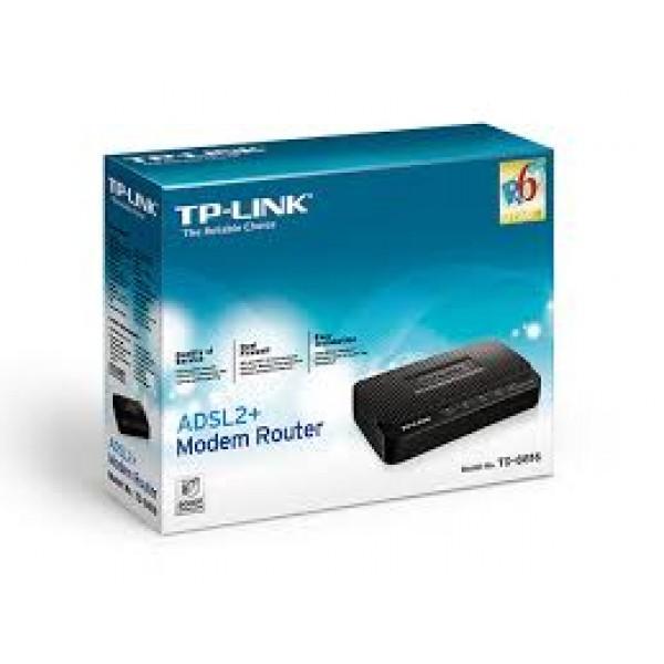 ADSL მოდემი TD-8816, TP-Link,1 ethernet ADSL2  Modem Router