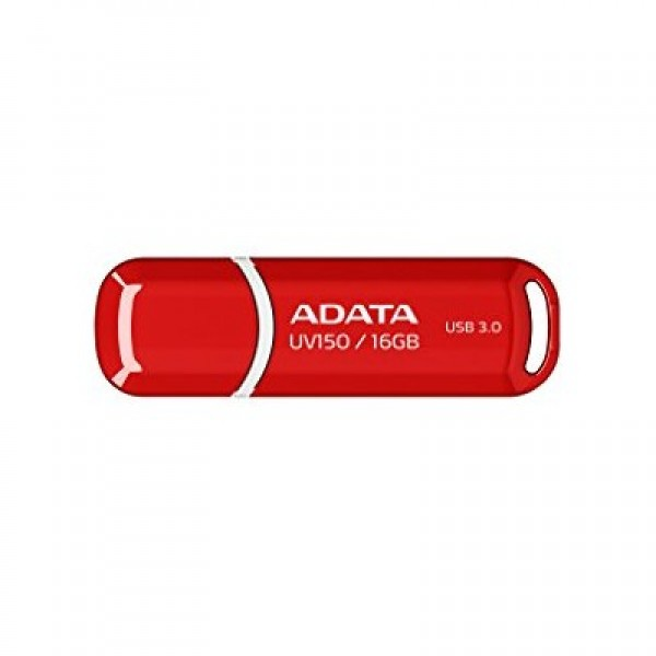 ADATA DashDrive UV150 16GB Red USB 3.0 Flash Drive, Retail