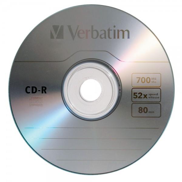 შეკვრა დისკების 50-ცალიანი CD-R 700MB/80min 52x Cake 50 MR207/შ MediaRange 4260057128270