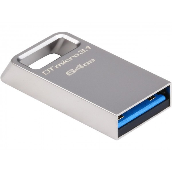 DTMC3/64, Kingston Type-A ultra-compact drive 64GB DTMicro USB 3.1/3.0