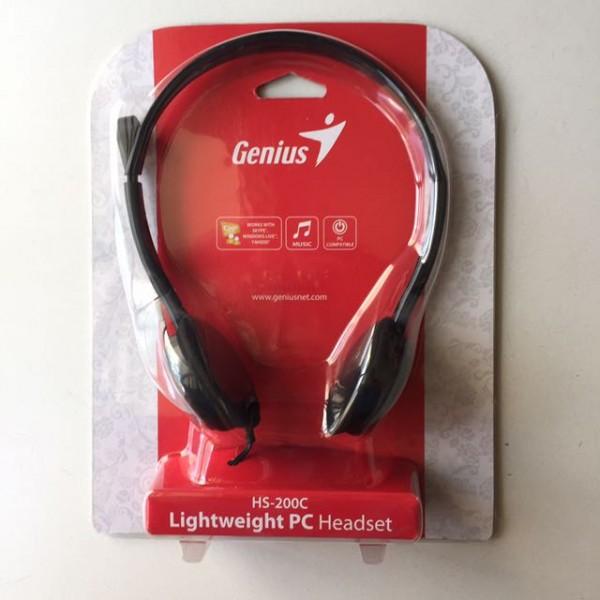 ყურსასმენი HS-200C, Genius Headphone with Microphone