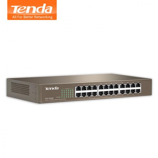 TEF1024D - 24-Port 10/100 Switch