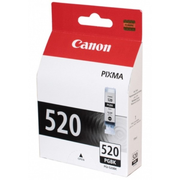 CARTRIDGE/ CANON Original/ BJ/ PGI-520 BK Black iP3600/4700 MP540/550/620/630/640