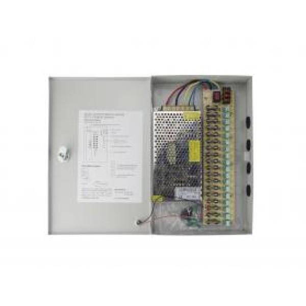 კვების ბლოკი, CK-MPS12V10A, Centralized Power Supply Box 12V10A (Nine Electric Outputs)