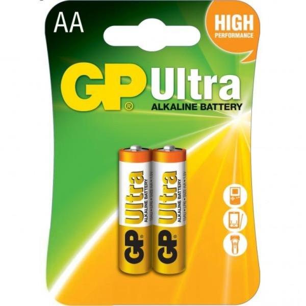 შეკვრა ელემენტების 2-ცალიანი GPPCA15AS014 GP15A-2UE2 SUPER ALKALINE battery 1,5V (AA) GP 48911990000