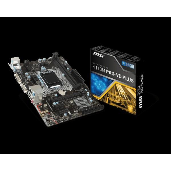 MSI H110M PRO-VD PLUS | LGA1151 | H110 |...