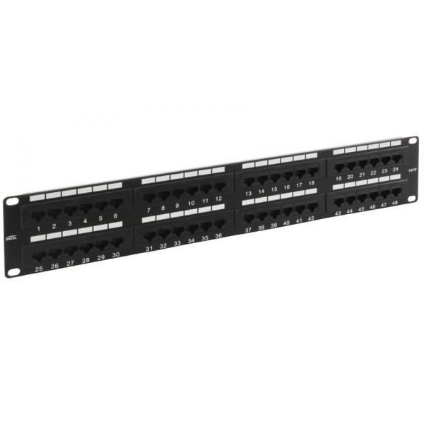 Patch Panel-48 ports FTP Cat5e