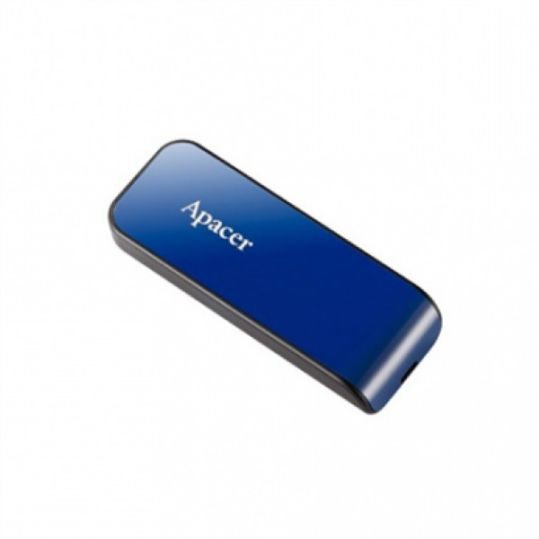 AP32GAH334U-1,Apacer  USB2.0 Flash Drive AH334 32GB Blue RP