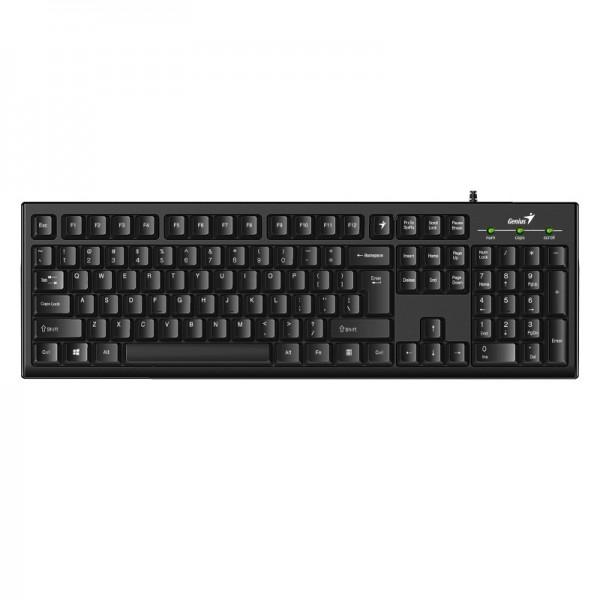 კლავიატურა KB-100,Genius Smart  Keyboard USB Black