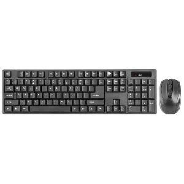 (გაყიდვაში არ არის)C-915, Defender Wireless Optical Mouse  Keybord, 1200 dpi, 4  scroll wheel, Black