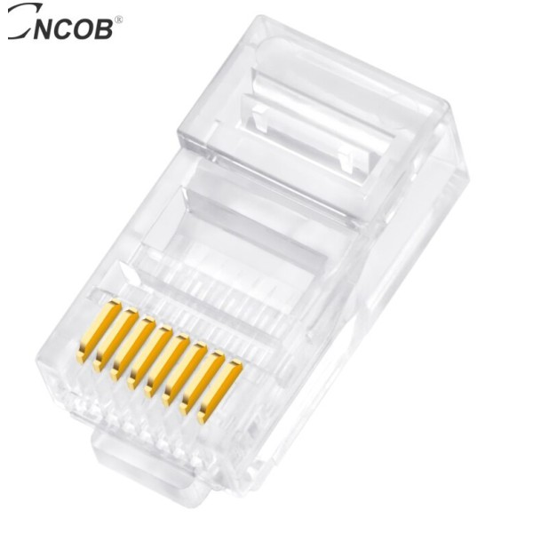 ქსელის აქსესუარი RJ45, ITD, FTPCat6 Modular Plug,8P8C (100PCS)