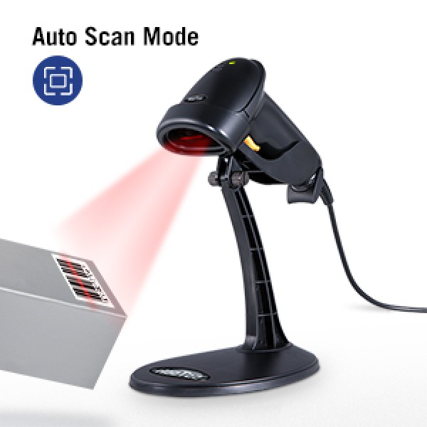 ბარკოდის სკანერი/Wireless Barcode Scanner (BS-880W-2D)Black, Wireless ,1D /2D Reader