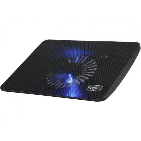 ნოუთბუქის სადგამი  WIND PAL MINI , Deepcool, Slim Notebook Cooler with 14cm Blue LED Fan