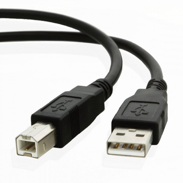 KDUSB2002-5M, KINGDA, USB AM/BM,28AWG Copper 28AWG ,OD=4.5MM,PVCBraiding 64X0.12AL ,1 ferrite,5M