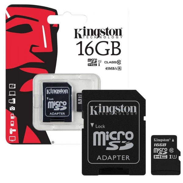 Flash Card/ 16GB/ SD / Kingston/ SDC10G2/16GB  micro  class10